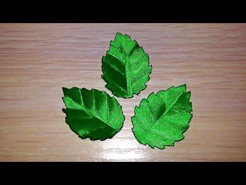 Что можно сделать из листьев