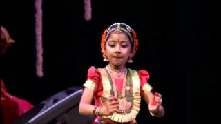 Iniya Haran Varnam Part 1 Yongest in the world Bharathanatya Arangetram