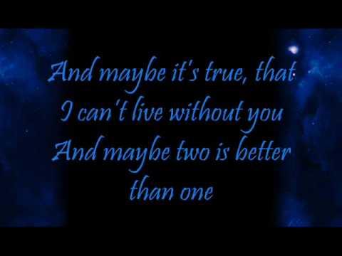 Boys Like Girls Ft Taylor Swift~ Two Is Better Than One Lyrics