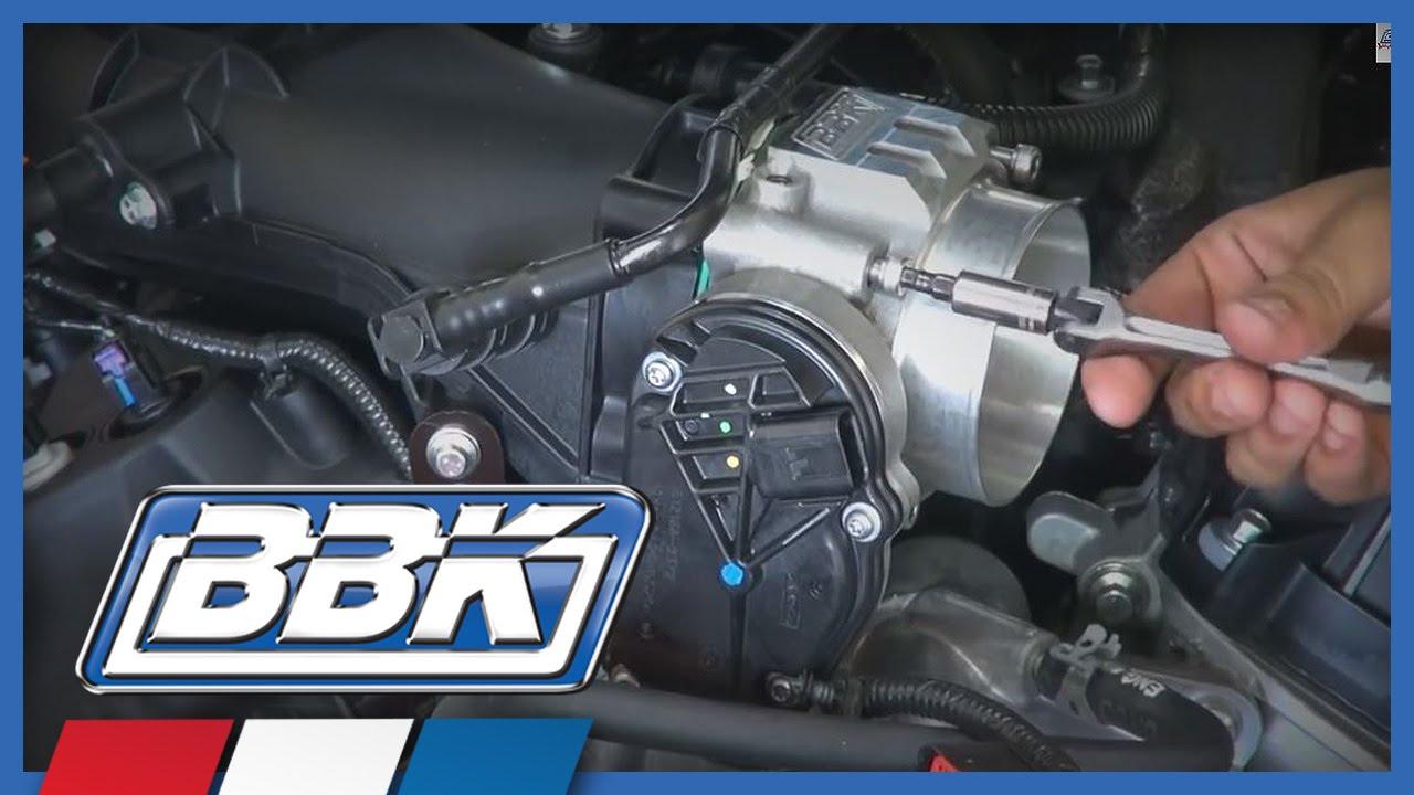 Mustang Throttle Body Install (2011-14) V6 Review - YouTube