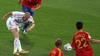 The day when Zidane destroyed Spain - Oh My Goal