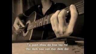 NƠI TÌNH YÊU BẮT ĐẦU [The Voice cover] - Karaoke lyrics version