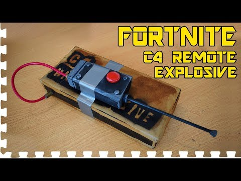 FORTNITE: C4 Remote Explosive - Cosplay prop