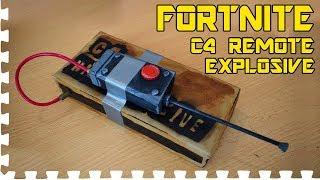 FORTNITE: C4 Remote Explosive - Cosplay prop