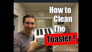 How To Clean a Toaster | Simple Cleaning Tutorial