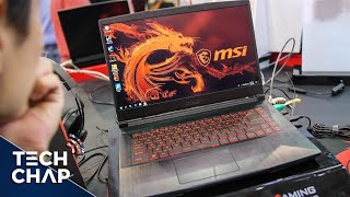 MSI GF63 Hands-On Review - The $999 Gaming Laptop! | The Tech Chap