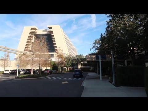 Disney World's Contemporary Resort Room Tour 2019 - Garden Wing