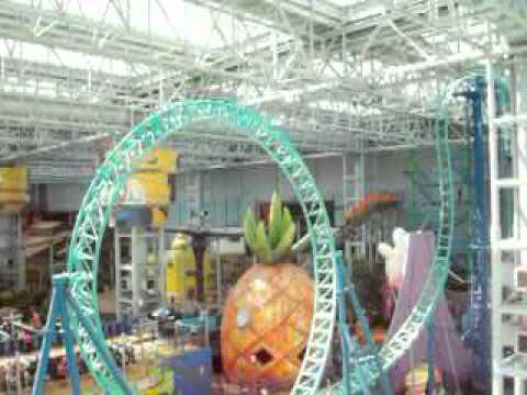 Spongebob ride at Mall of America