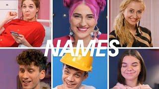 Names of crafty panda mambers  real names