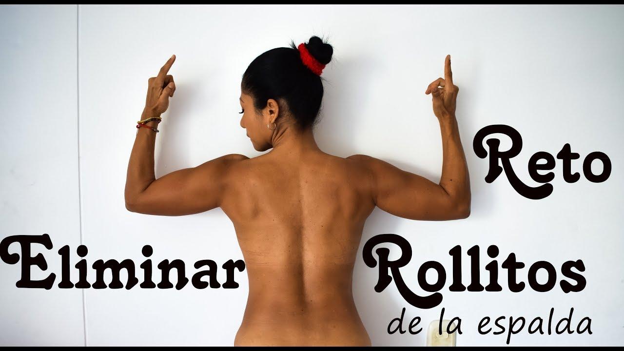 RETO ELIMINAR ROLLITOS DE LA ESPALDA  RUTINA 12  QuedateEncasa  EntrenaConmigo Dey Palencia Reyes