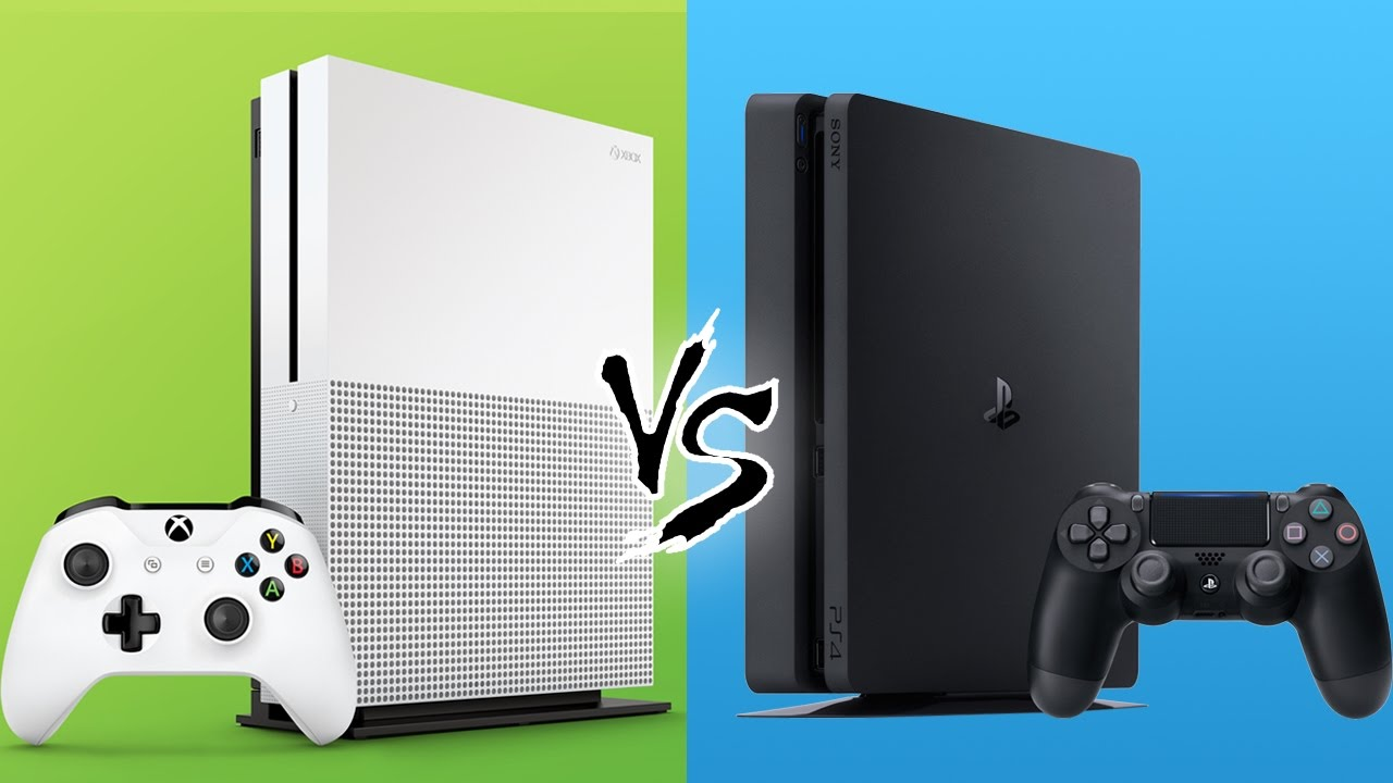 ps4 slim vs xbox one s youtube. Black Bedroom Furniture Sets. Home Design Ideas