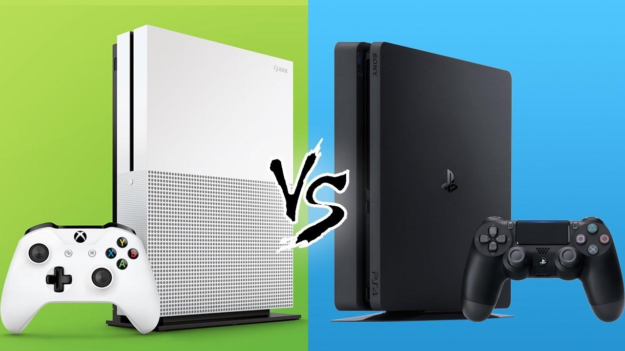 PS4 Slim vs Xbox One S - YouTube