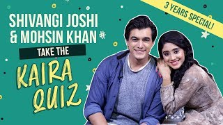 Download lagu Shivangi Joshi and Mohsin Khan take the 'Kaira' quiz | Yeh Rishta Kya Kehlata Hai | Kaira