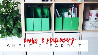 DECLUTTER WITH ME | Stationary & Books | Alexa Likes