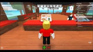 Roblox EPISODE 1 Décidé de travailler dans une pizzeria