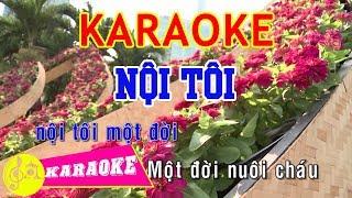 Nội Tôi Karaoke || Beat Chuẩn
