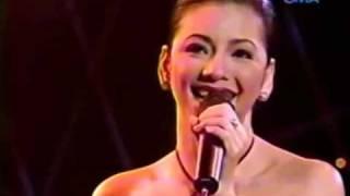 Regine Velasquez Happy Songbird Sings Legrand (michael jackson song)