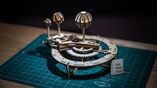 Show and Tell: Laser-Cut Orrery Kit