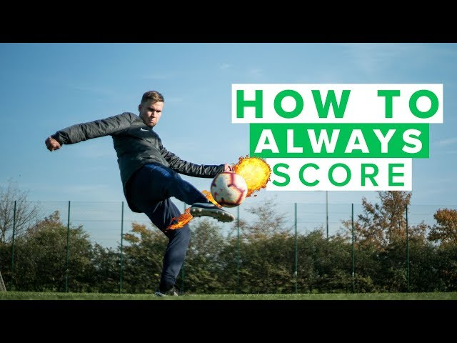 HOW TO ALWAYS SCORE GOALS  |  Improve your football skills as a striker