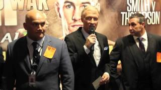 TERRY FLANAGAN v DIEGO MAGDALENO OFFICIAL WEIGH IN & FACE TO FACE AHEAD OF WBO WORLD TITLE CLASH
