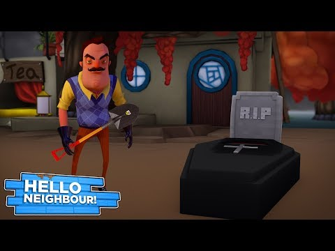 Minecraft HELLO NEIGHBOR -  WHO HAS THE NEIGHBOR KILLED AND BURIED OUT HIS BACK GARDEN????