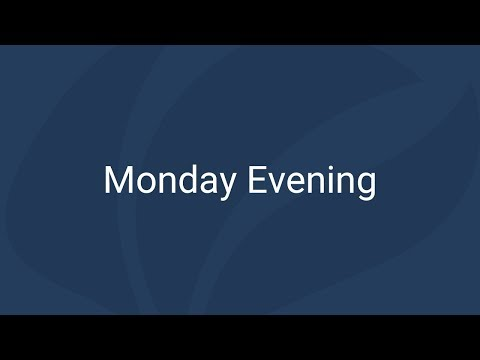 Monday Evening | Free Church of Scotland General Assembly 2018