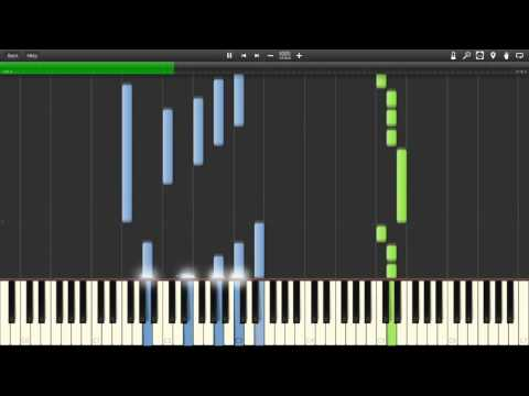 Carla's Dreams - Sub Pielea Mea Piano (Synthesia)