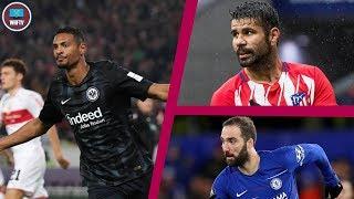 Sebastien Haller Close? Higuain Loan To Buy? Diego Costa To West Ham? Transfer Daily