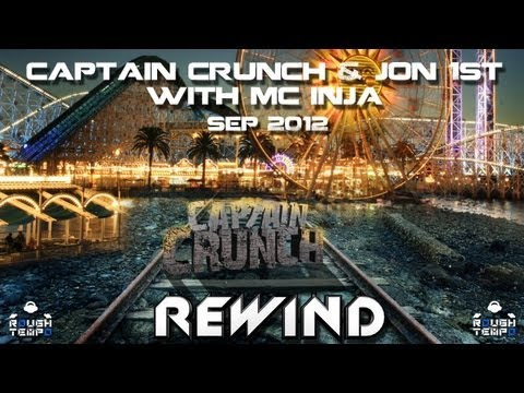 CAPTAIN CRUNCH & JON 1ST with MC INJA - Rough Tempo LIVE! -