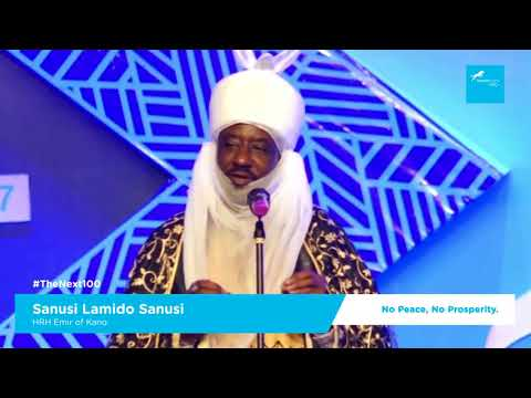 Sanusi Speech at the Union Bank 100 celebration