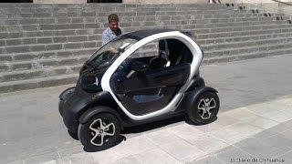 Presenta Renault, aquí, mini auto eléctrico