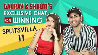 Gaurav Alugh And Shruti Sinha's Exclusive Interview On Winning Splitsvilla 11   MTV India