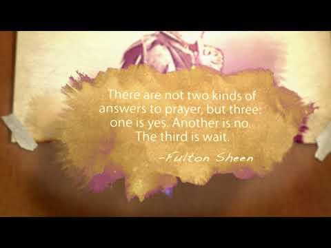 PRAYER   Meditations with Fulton Sheen