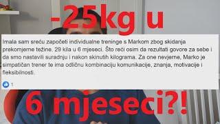 25 kila manje u 6 mjeseci?!   Natural Fitness