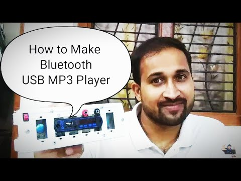 Bluetooth Mp3 With Fm-Decoder-Player DC-5-12v | How to make bluetooth Mp3 player- by Manmohan Pal