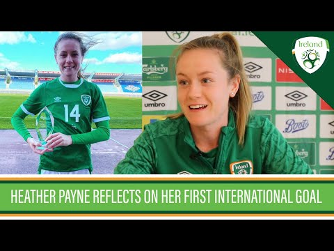 INTERVIEW | Heather Payne reflects on her first international goal