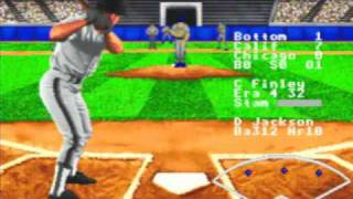 R.B.I. Baseball '95 - Gameplay Footage