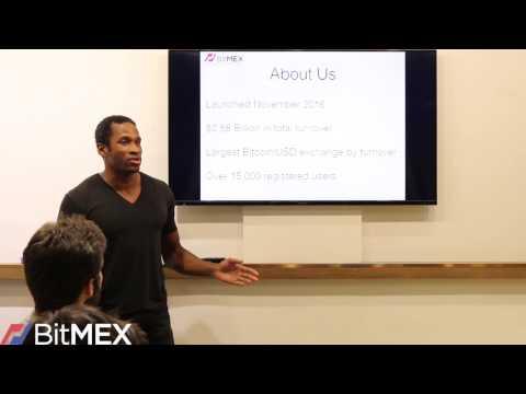 BitMEX - Hong Kong Arbitrage Trading Seminar 07.12.16