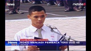 Tersingkir dari Paskibraka, Pelajar Koko Jadi Pembaca UUD 45 di Kemenpora - iNews Sore 17/08