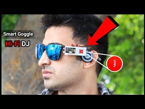 चश्मे को बनाया Smart Bluetooth Goggle || How To Make Dj Bluetooth Goggle || Gadget