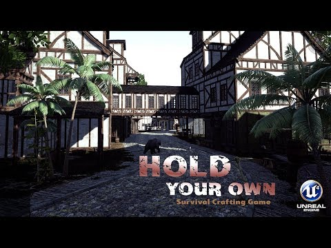 First look Cool New Survival Crafting Game | Hold Your Own | EP1