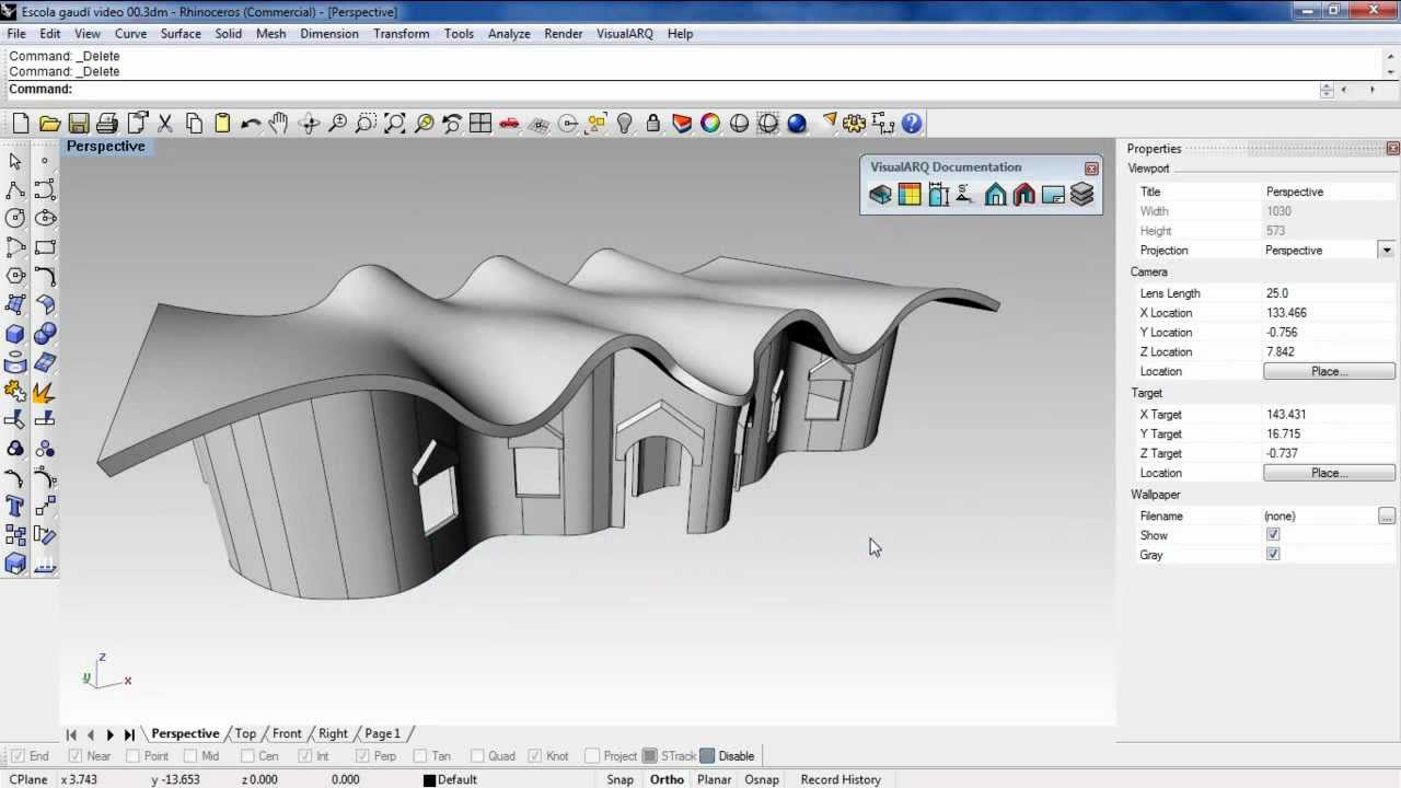 Create And Edit Architectural Section Views With Rhino And