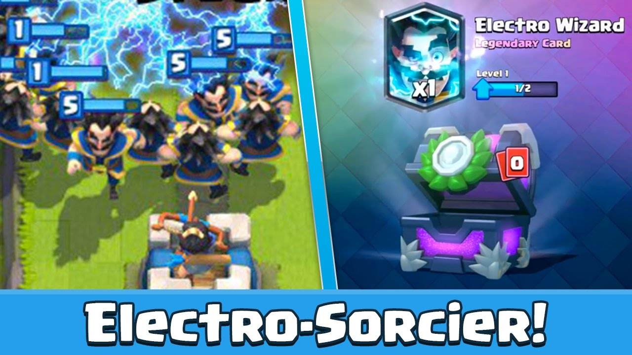 Fabuleux Clash Royale L'ELECTRO SORCIER EN VIDEO ! GAMEPLAY - YouTube OR18