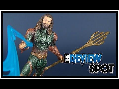 Toy Spot | Mattel Justice League Movie Basic Aquaman Figure