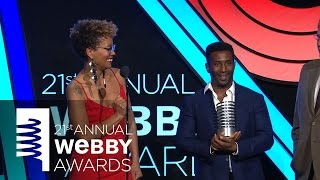 The New York Times' 5-Word Speech at the 21st Annual Webby Awards