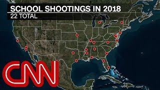 Report: More killed in school shootings than in military in 2018