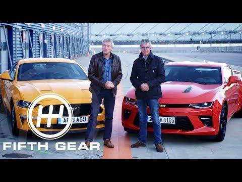 fifth-gear:-ford-mustang-v8-gt-vs-chevrolet-camaro-v8
