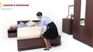 Спальня и гостиная «Верди» Мара Махагон   Столплит Мебель!