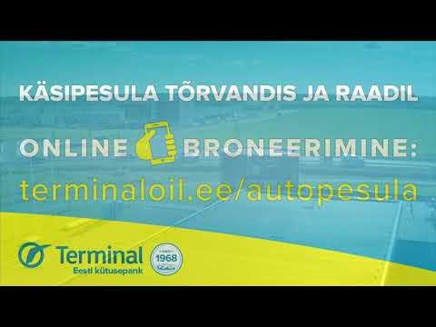 Terminal Oil auto käsipesula
