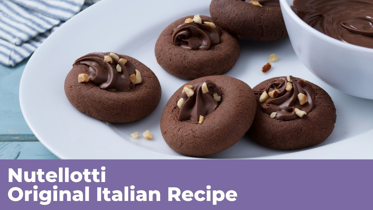 Ricetta Nutellotti Di Benedetta.Nutellotti Original Italian Recipe Youtube